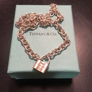 Tiffany & Co 1837 necklace in silver